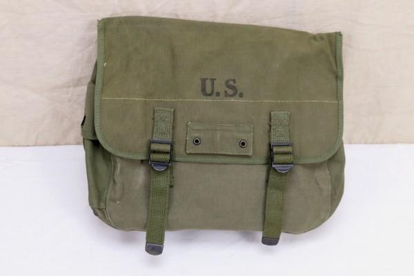 Original US WW2 M1936 MUSETTE BAG 1945 Field bag combat bag canvas
