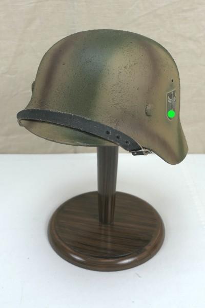 Steel helmet Wehrmacht Army model M35 Rauhtarn camouflage helmet size 57/58 #21