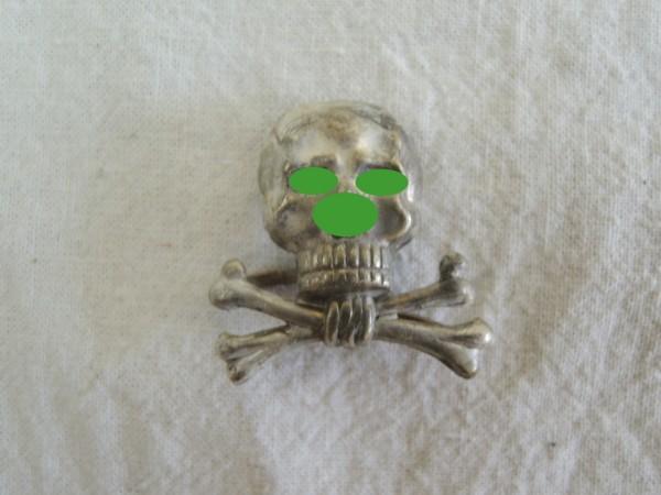 Caps Badge Tradition Skull Braunschweig Hussars Regiment 17