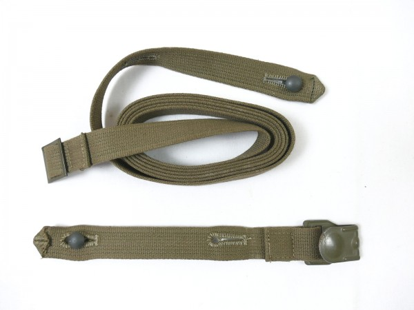 Wehrmacht strapping gasmask box strap 2-piece gasmask box top repro