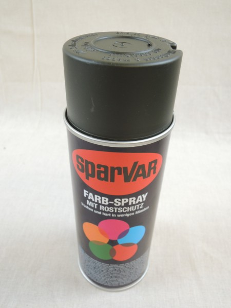 400ml colour, basic price 25,00 €/L, WEHRMACHT GRAUOLIV, matt, restoration, RAL 6006