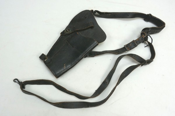 Original US Army shoulder holster leather black for Colt 1911