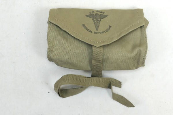 US Army WW2 First Aid Medical Department Pouch Carrier Aesculap 1943
