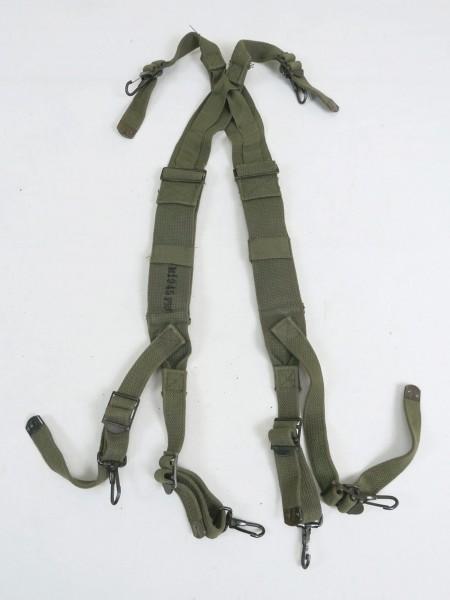 ORIGINAL US ARMY M1945 per SUSPENDERS paddock