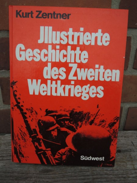 """Illustrated History of the Second World War"""" book"""