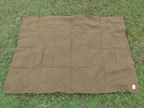 US Army M-1934 Wool virgin Blanket OD US Sani Blanket Medics medical corps