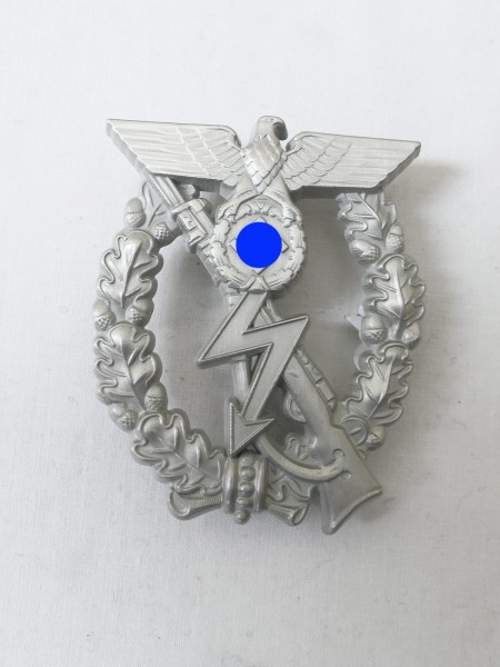 ISA Infantry Storm Badge Stage Silver Prototype with Lightning