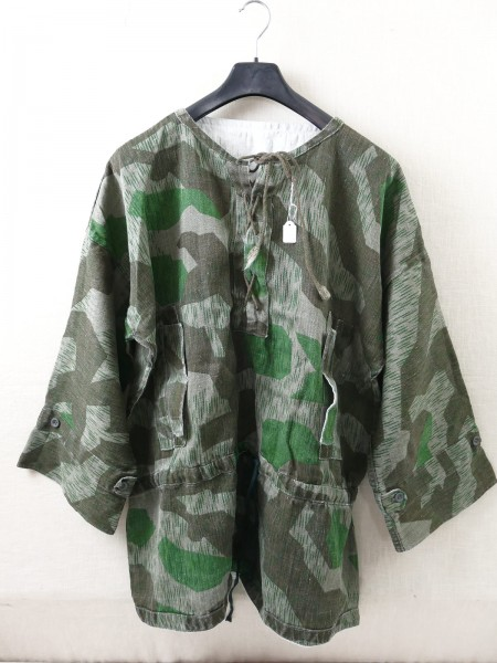 Drillich smock jacket splinter camouflage Wehrmacht Gr. 2 camouflage shirt vintage optic top museum reproduction