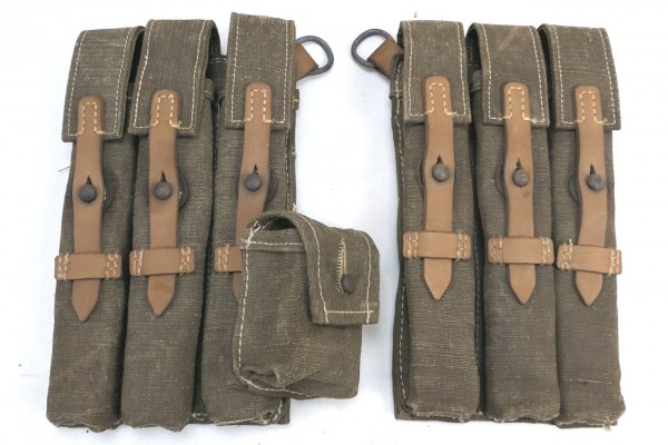 Wehrmacht MP 38/40 Magazine Pouches South Front DAK Africa Corps