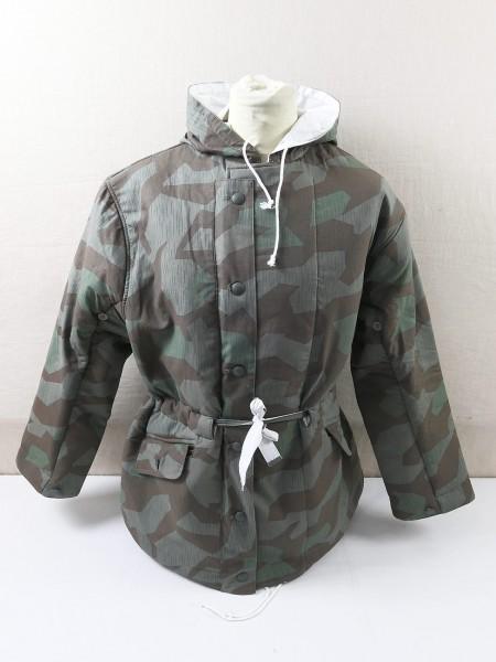Wehrmacht winter reversible jacket reversible parka camouflage jacket reversible jacket splinter camouflage splinter camouflage Splinter