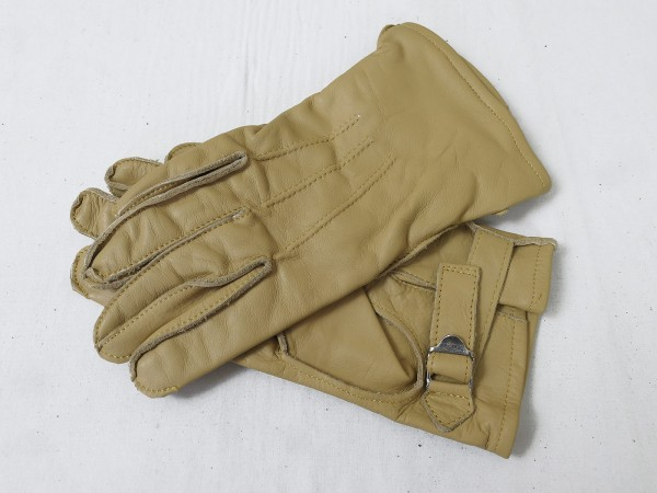 US WW2 Leather Gloves Paratrooper Paratrooper Leather Gloves