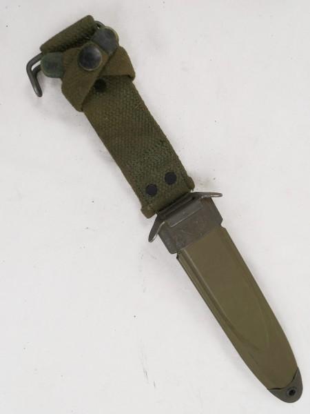 Original US M8A1 sheath for M3 Fighting Knife Vietnam Scabbard