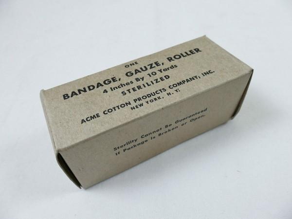 1x bandage pack US ARMY bandage Gauze Roller gauze bandage First Aid Kit