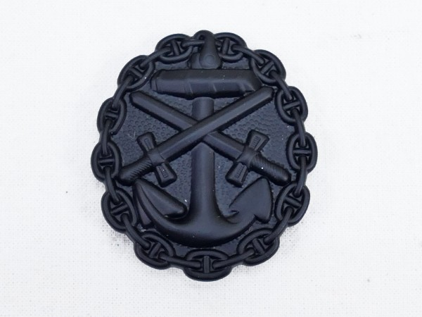Wounded Badge of the Navy 1918 in Black