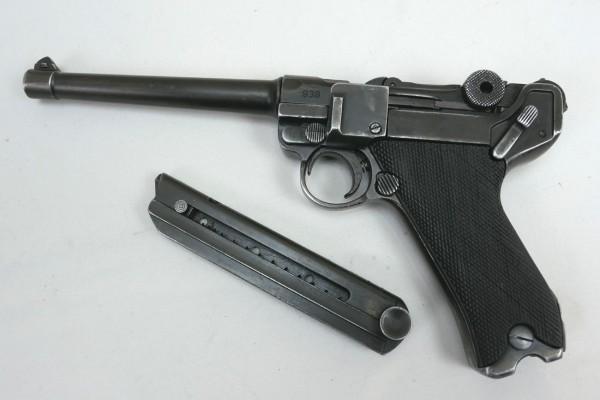 Pistol P08 Ari Artillery Deco Model Movie Weapon Denix