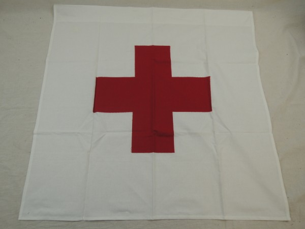 Red Cross Flag with Loop / Red Cross Flag