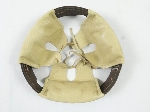 WK1 M16 steel helmet lining bell helmet lining leather liner interior helmet horns helmet