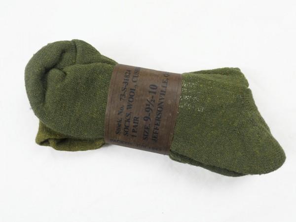 Original US ARMY WW2 boots socks size 9-9.5-10 socks wool