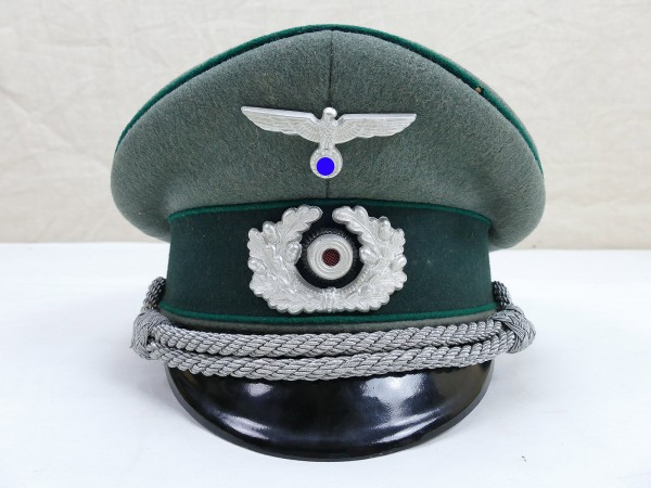 Wehrmacht Original EREL Gabardine Visor Cap Officer of the Army Administration