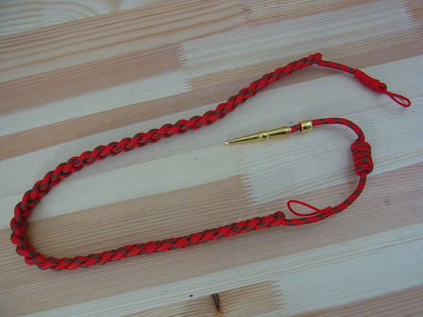US Army WK2 LANYARD Cord Belgium for Officers Service Uniform Class A
