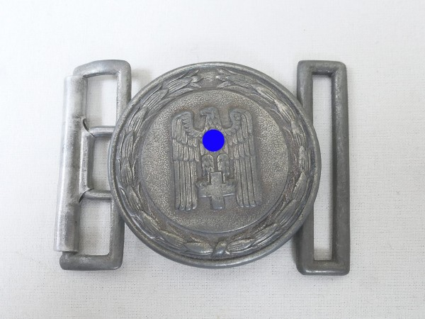 German Red Cross leader's belt buckle with counterpart