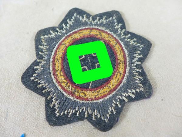 German cross in gold fabric badge Luftwaffe pilot blouse