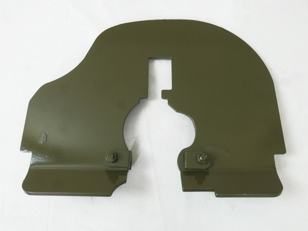 WK1 Trench shield Maxim MG 1910 Machine gun shield for wheel mount WW1