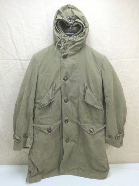 US ARMY WW2 Cold Winter Parka Overcoat D-1 SHELL PARKA Small ALPACA LINER