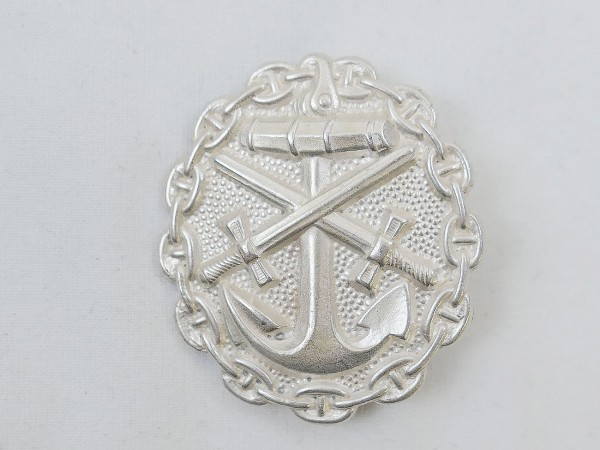 Wounded Badge Badge Kriegsmarine Level Silver