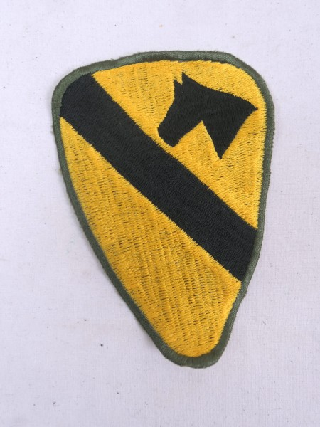 3x 1st Cavalry Division US Army Patches