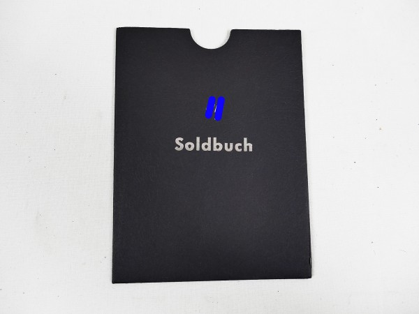 Cover protective cover for SS Soldbuch / Identity card Waffen Elite