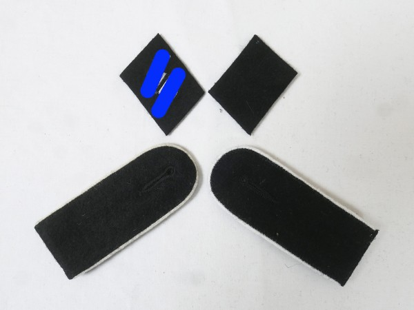 Set Effects Badges Weapons Elite Shoulderboards Collar Mirror for Shooter