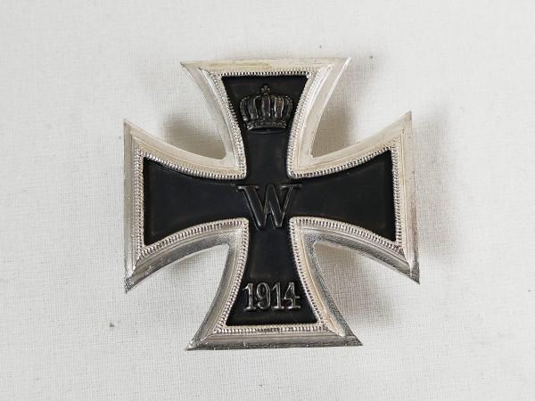 Iron cross 1st class 1914 on pin EK1 Kaiserlich