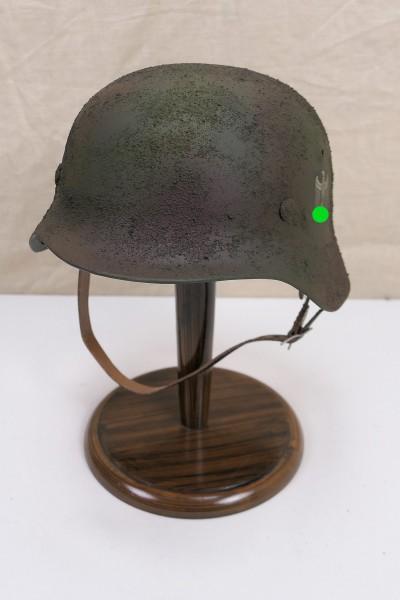 Wehrmacht camouflage tropics south front steel helmet M35 M40 DD Rauhtarn camouflage helmet size 57/58 #29