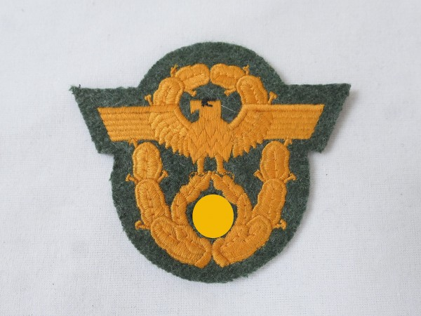 Wehrmacht eagle sleeve badge police field policemen field blouse