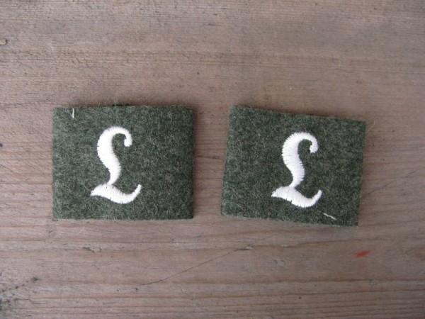 """Shoulder flaps Extensions """"training unit"""" Infantry"""