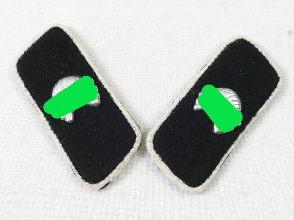Pair of collar patches tank regiment Hermann Göring HG