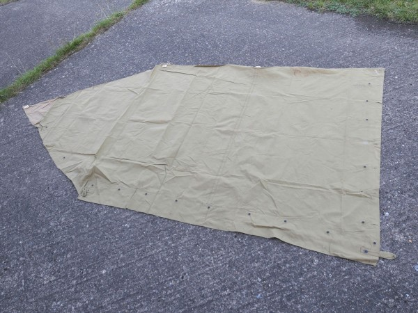 US Army tent shelter tent shelter original tent shelter half - H.P. Lau Company 1942