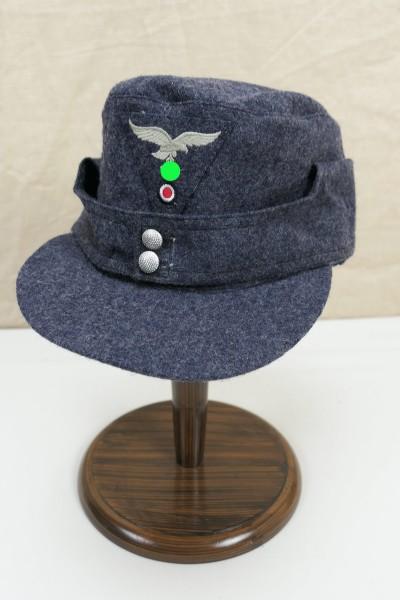 Luftwaffe M43 field cap size 60 Baschlik cap M1943 with trapezoid eagle