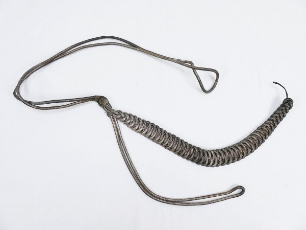 Wehrmacht Original Catch Cord / Armpit Cord of a Paymaster of the Army Administration HV