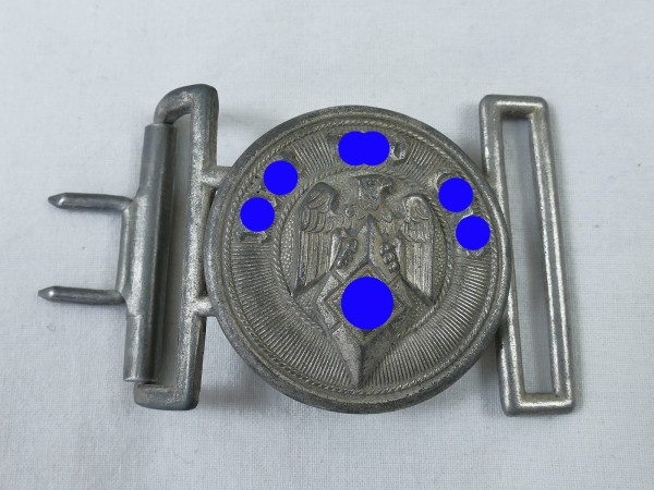 Hitler Youth belt buckle HJ field bandage leader field bandage lock leader belt buckle