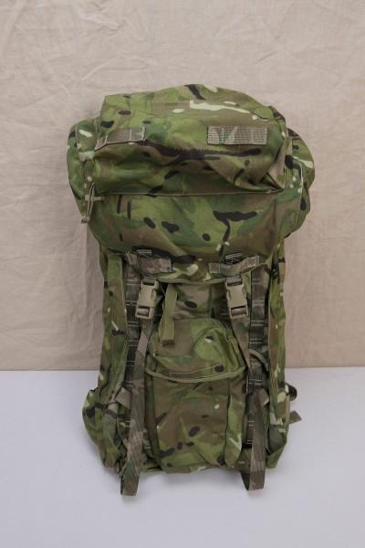 British Army Rucksack & Frame Long Convoluted Back MTP Multicam 2016
