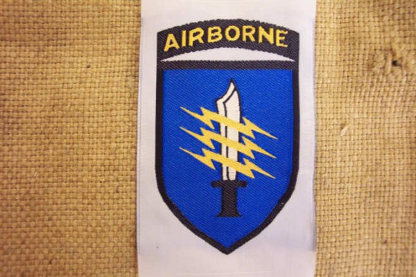 Badge woven for South Vietnamese units pathfinder