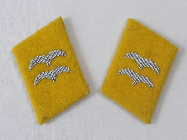 Wehrmacht Luftwaffe collar mirror corporal