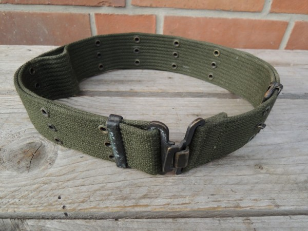 US Army Pistol Belt Hole Belt