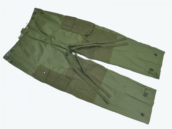 US ARMY WW2 Vintage Paratrooper Trousers Field Cotton Field Trousers M-1943 rigger made