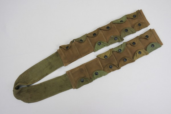 Wehrmacht FG42 Luftwaffe paratrooper bandolier sand-colored / Tropics Africa Corps
