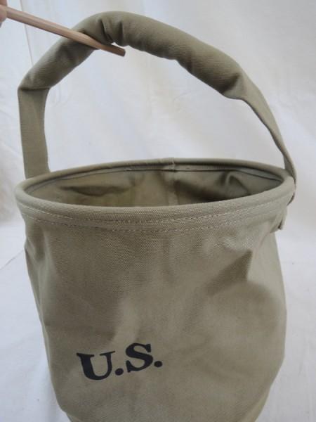 US Army Water Bucket Bucket Bucket