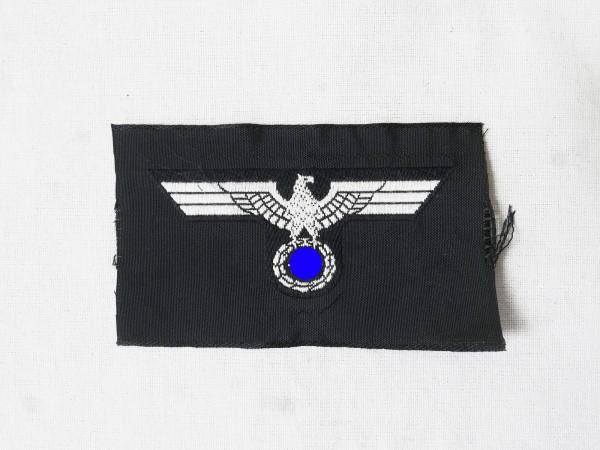 Wehrmacht Panzer cap badge cap eagle shuttle field cap woven