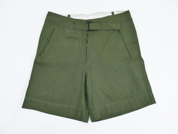 Wehrmacht DAK Afrikakorps Army tropical trousers olive short tropical uniform shorts